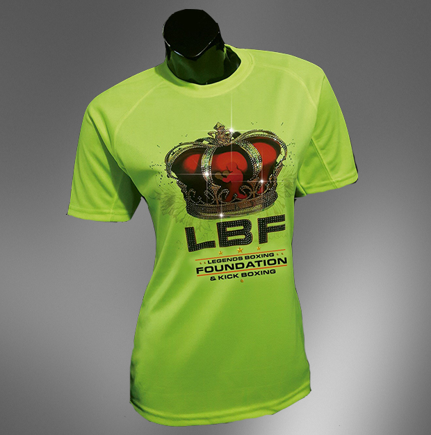 LBF Shirt Girlie Neon