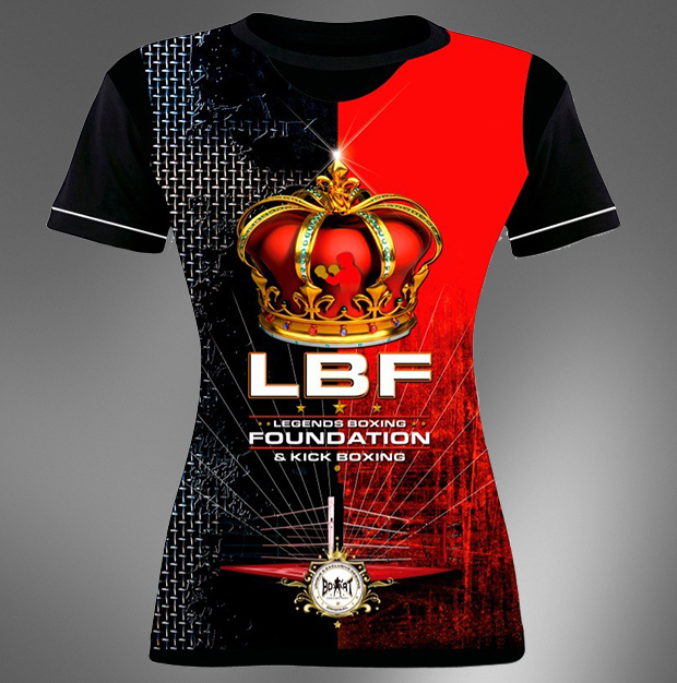 LBF Shirt Girlie Red
