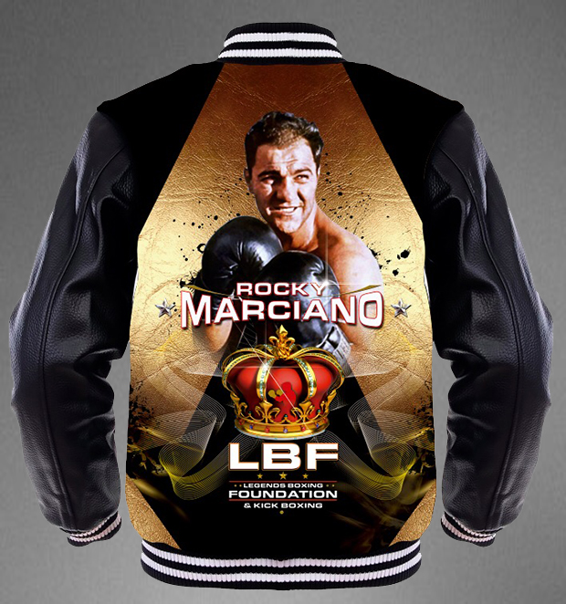 LBF Rocky Marciano leather Jacket